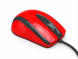Computer optical mouse. 3d