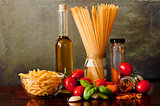 Italian noodles recipe, pasta all'arrabbiata