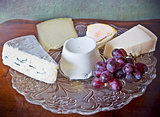 French and Italian cheese assortement