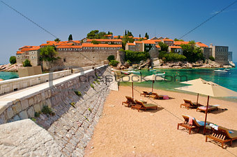 Resort Island of Sveti Stefan