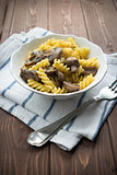 Pasta with mushroom