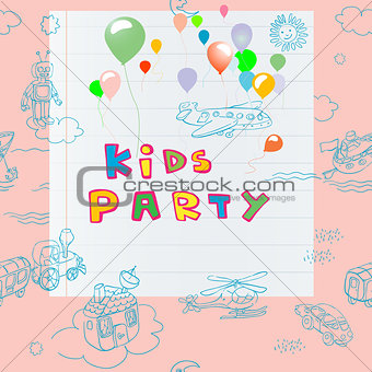 kids party card