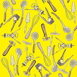 kitchen tools pattern