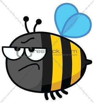 Bee angry
