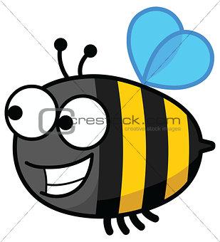 Bee looking forward
