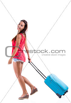 Going on vacation with a suitcase