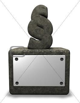 stone paragraph