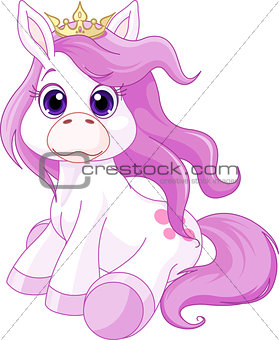 Cute horse princess