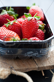 Fresh whole strawberries