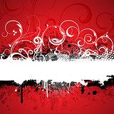 Decorative grunge background