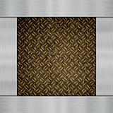 Metal on carbon fibre