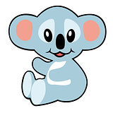 cartoon koala bear