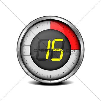 timer digital 15