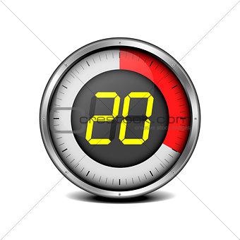 timer digital 20