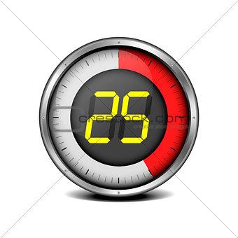 timer digital 25