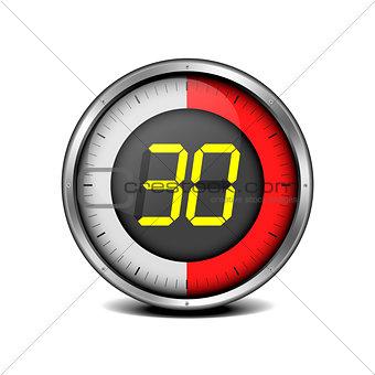 timer digital 30