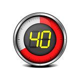 timer digital 40