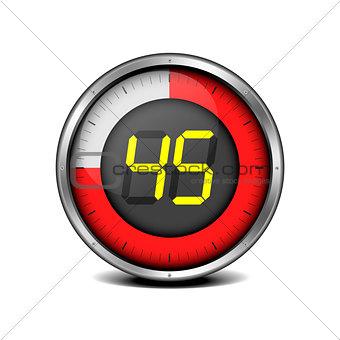 timer digital 45
