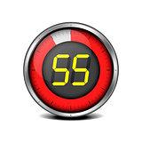 timer digital 55
