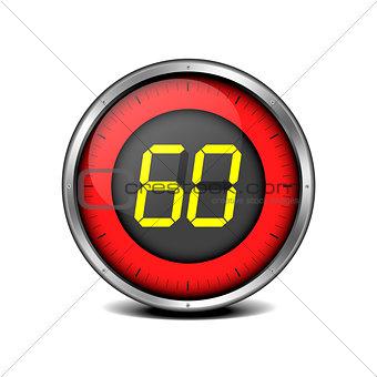 timer digital 60