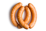 uncooked sausages