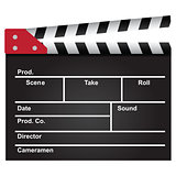 Film clapperboard