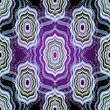 Vintage dark seamless pattern