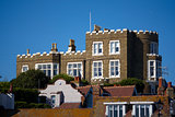 View of Bleak House taken from Broadstairs Harbour