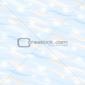 Sparkling waves pattern