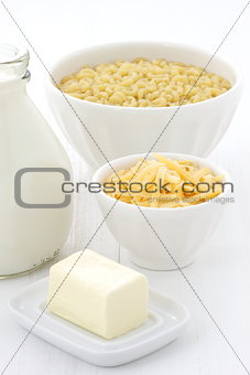 fine macaroni and cheese ingredients