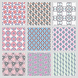 Simple vector seamless patterns