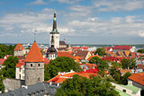 Buildings in Old Town of Tallinn