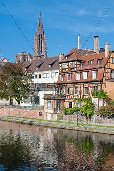 Old houses in Strasbourg