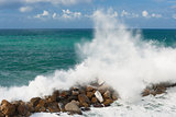 Storm in the Ligurian Sea
