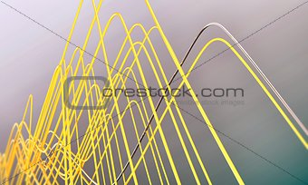 abstract wires