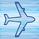 Airplane symbol