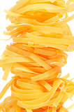 uncooked tagliatelle