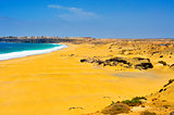 Castillo Beach in El Cotillo, Fuerteventura, Canary Islands, Spa