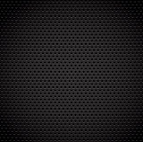 Black background of carbon fibre texture.