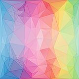 triangular style abstract background