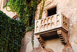 The Famous Balcony of Juliet Capulet Home in Verona, Veneto, Ita