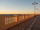 On the beach in Malaga