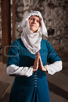 Righteous Medieval Nun