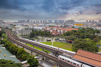 Singapore Mass Rapid Transit Station