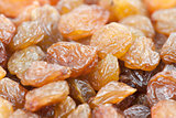 Dried raisins background