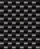 black seamless geometric background