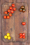 Set of cherry tomatoes