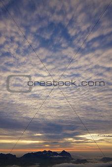 Arctic cloudscape