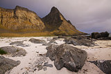 Beach on Lofoten islands