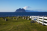 Scenic graveyard